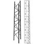 Rohn Tower RSL80H18 Medium Duty Dish Loading 80 Ft Tower