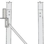 Rohn RSLM-LMB Leg Mounted Bracket RSL