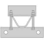 Rohn RSLTBA Tie Back Assembly RSL