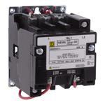 Schneider Electric 8502SAO11V06 NEMA Contactor, Type S, nonreversing, Size 00, 9A, 2 pole, 440/480 VAC 50/60 Hz coil, open style