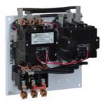 Schneider Electric 8736SFO3V02S NEMA Motor Starter, Type S, reversing, Size 4, 135A, 3 pole, horizontal, 120 VAC coil, melting alloy overload, open