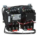 Schneider Electric 8810SBO2V02S Two Speed Starter, Size 0, 3-Pole, Melting Alloy OLR, Open, 120/110V 60/50Hz