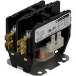 Schneider Electric 8910DP32V14Y122Y135Y253 Contactor, Definite Purpose, 30A, 2 pole, 24/24 VAC 50/60 Hz coil, open, pressure wire, DIN rail mount, cover