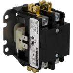 Schneider Electric 8910DP42V14Y248 Contactor, Definite Purpose, 40A, 2 pole, 24/24 VAC 50/60 Hz coil, open, with cover
