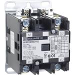 Schneider Electric 8910DPA32V02U1Y122 Contactor, Definite Purpose, 30A, 2 pole, 5 HP at 230 VAC, 1 Phase, 110/120 VAC 50/60 Hz coil, open, UL Listed