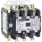 Schneider Electric 8910DPA33V02X20 Contactor, Definite Purpose, 30A, 3 pole, 20 HP at 575 VAC, 3 Phase, 110/120 VAC 50/60 Hz coil, 2 NC closed interlock