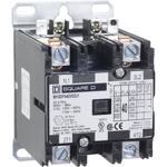 Schneider Electric 8910DPA42V09U1 Contactor, Definite Purpose, 40A, 2 pole, 7.5 HP at 230 VAC, 1 Phase, 208/240 VAC 60 Hz 220 VAC 50 Hz coil, UL Listed