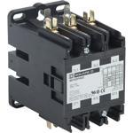 Schneider Electric 8910DPA53V14U1 Contactor, Definite Purpose, 50A, 3 pole, 30 HP at 575 VAC, 3 Phase, 24/24 VAC 50/60 Hz coil, open, UL Listed