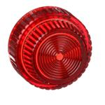 Schneider Electric 9001R31 30mm Push Button, Types K or SK, pilot light lens, plastic fresnel, red