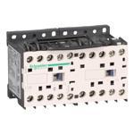 Schneider Electric LC2K0901FC7 TeSys K reversing contactor - 3P - AC-3 <= 440 V 9 A - 1 NC - 127 V AC coil