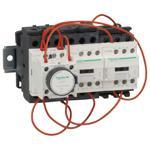 Schneider Electric LC3D320AG7 TeSys D - star delta starter - 3 x 3P (3 NO) - 32 A - 120 V coil