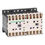 Schneider Electric LP2K09017BD TeSys K reversing contactor - 3P - AC-3 <= 440 V 9 A - 1 NC - 24 V DC coil