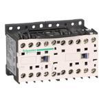 Schneider Electric LP2K0901GD TeSys K reversing contactor - 3P - AC-3 <= 440 V 9 A - 1 NC - 125 V DC coil