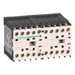 Schneider Electric LP2K09105BD TeSys K reversing contactor - 3P - AC-3 <= 440 V 9 A - 1 NO - 24 V DC coil