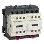 Schneider Electric T02CN23BD Reversing Contactor TeSys NEMA Sz1 3P 24VDC