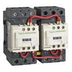 Schneider Electric T02DN23T7 Reversing Contactor TeSys NEMA Sz2 3P 480VAC