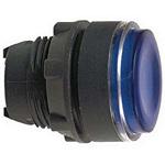Schneider Electric ZB5AA68 Pushbutton Switch 22mm Blue Flush