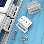 Solarland SLB-0102 Universal Solar Panel Flat Mount Z Bracket Kit