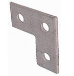 Strut 3HL Flat L Plate 3 Hole Unistrut P1036