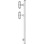 Wavelink PRO ex403-7-Q-0-N1 Dipole Antenna 403-470 MHz